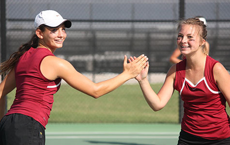 Tennis takes 2nd in district, plays in area tournament Friday