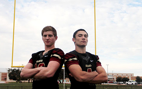 DUAL THREAT: Quarterbacks help team to playoff berth