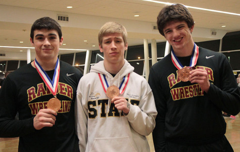 Three wrestlers place at state