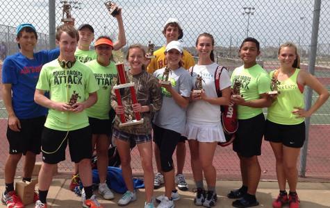 Tennis team wins Del Valle tournament