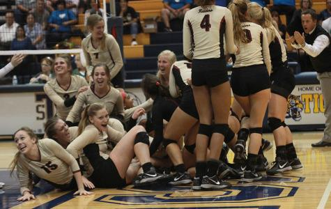 Varsity volleyball makes playoffs for first time
