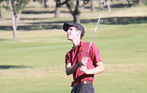 Junior golfer breaks individual school record