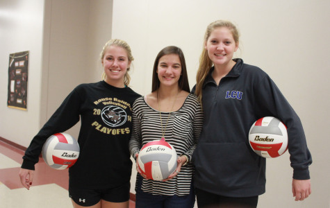 Three volleyball players make All-Area team