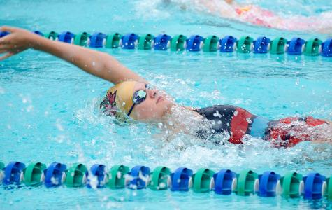 Swim team prepares for district meet