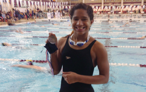 Junior places second in 100 Fly at regionals