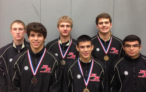 Six wrestlers place at regionals, five going to state