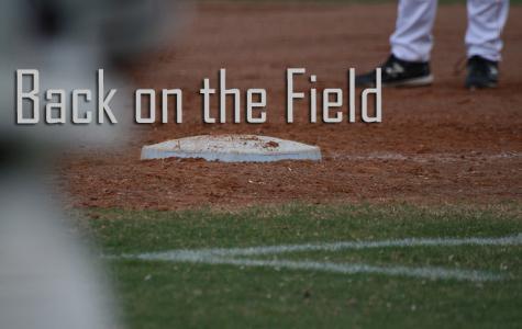 BACK ON THE FIELD: Varsity Baseball
