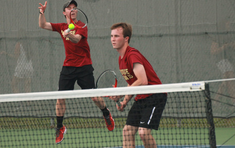 Ritter twins win district boys doubles title