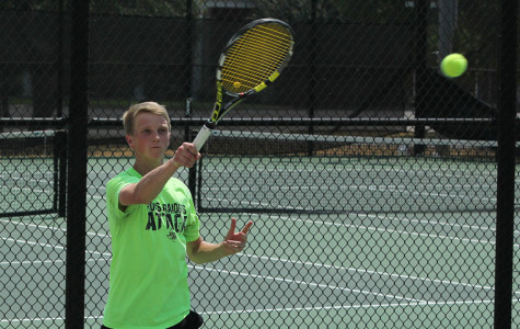 Tennis Q&A with senior Bryson King