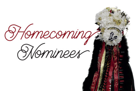 Homecoming nominees announced, voting Tuesday