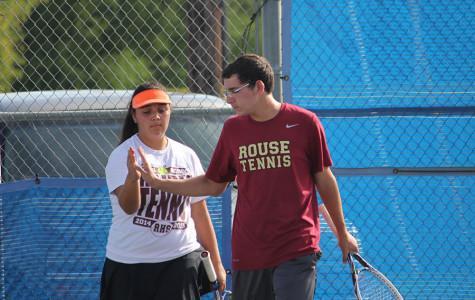 Tennis ends district run at semifinals