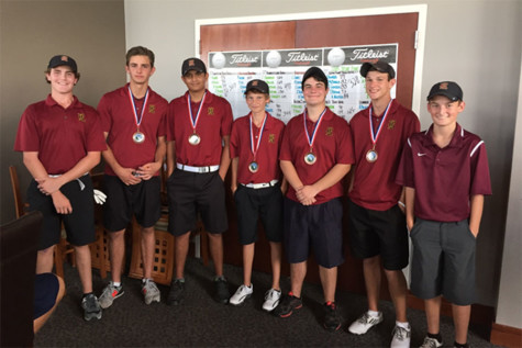 Varsity boys open season with third place finish