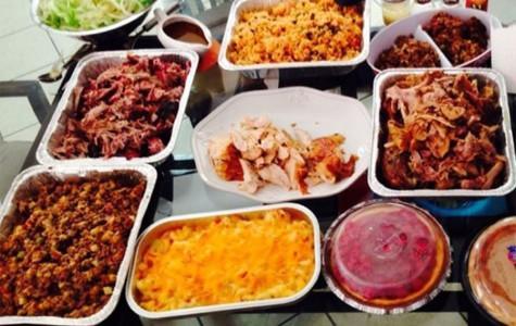 Thanksgiving dinner is a family affair at De La Paz house