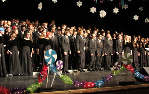 Choir Holiday Concert, Dec. 3