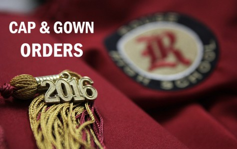 Cap and gown orders for seniors