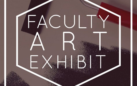 First-ever faculty art show, Feb. 4