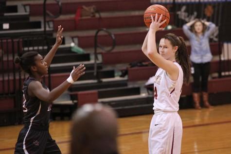 Varsity girls basketball finish season