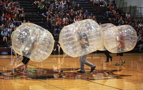 Bubble soccer game raises money for Make-A-Wish