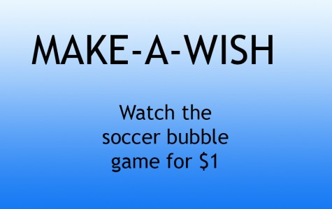 Student Council hosting bubble soccer games for Make-A-Wish