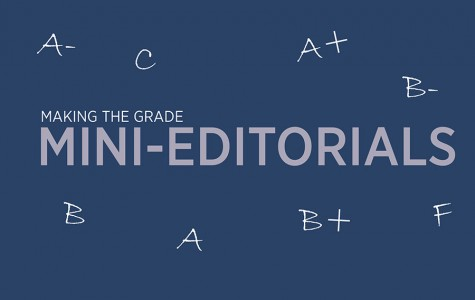 Making the Grade: Mini-Editorials