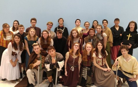 AP Theatre class performs for elementary students