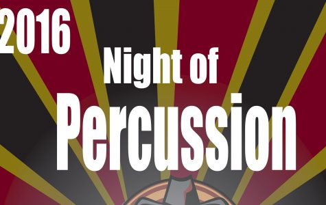 Percussion Ensemble hosting event, April 23