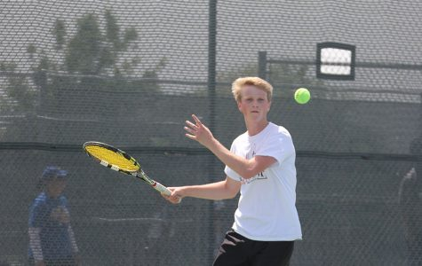Senior finishes fourth in boys singles at district
