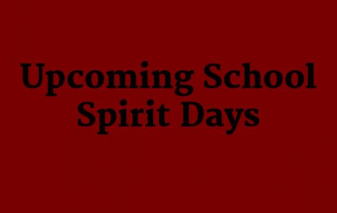 School Spirit Theme Days