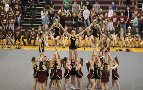 Cheer team competes in UIL