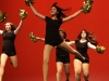 "The Golden Dazzlers (JV dance team) performs to ""Fire Burning"" by Sean Kingston."