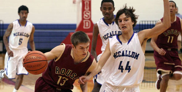 Boys basketball makes history with playoff win