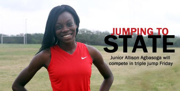 Junior competing Friday in second state meet