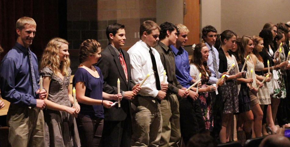 National Honor Society induction, Oct. 3
