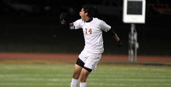Feature on boys' soccer captain, Jesus Wong de Leon