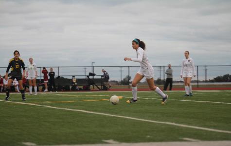 Varsity girls soccer finishes season