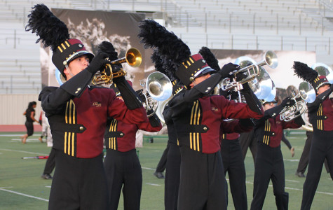 Band performs new marching show at Festival of Bands