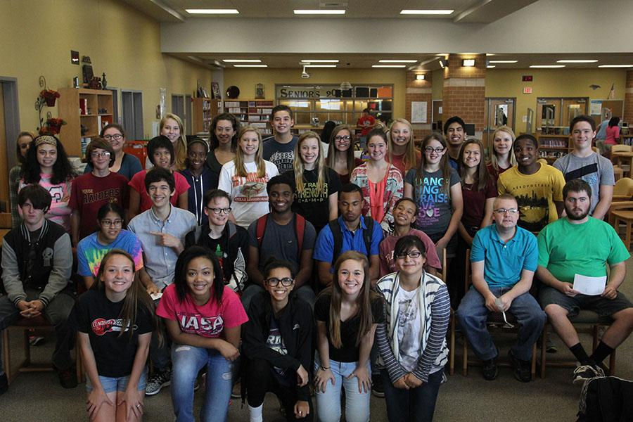 IT'S AMAZING The new club, Amazing Raiders Club, already has a big following. The group helps students become more involved and interactive with special needs students.