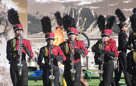 Band receives first division rating at UIL Marching Contest