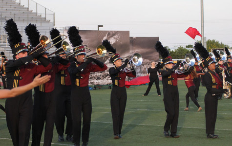 Band takes fourth at Westlake marching festival