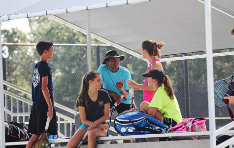 Tennis awnings bringing needed shade to courts