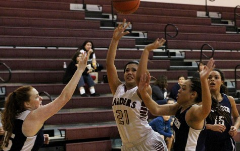 Varsity girls basketball win three games in first round of district