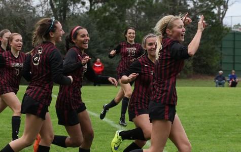 Girls soccer back on the field