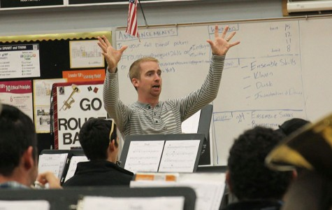 Spicer joins staff as new band director