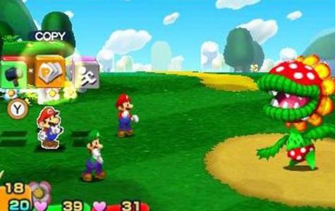 Mario and Luigi: Paper Jam fun game to play