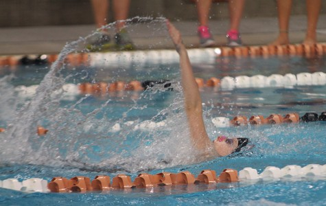 Two swimmers, six relays place at district