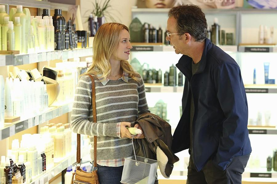 Sky Van Vliet and Timothy Hutton in American Crime. Van Vliet played Hutton's daughter on the show.