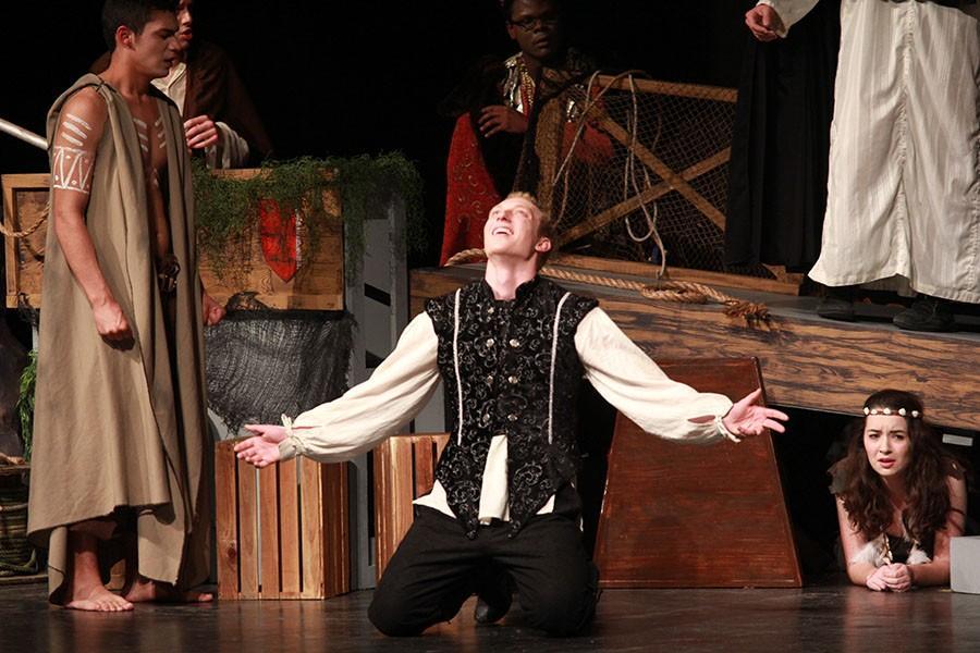 Chet Hamilton performing at One-Act