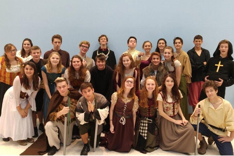 The Advanced Productions Theatre class performed Robin Hood for their childrens show this year.