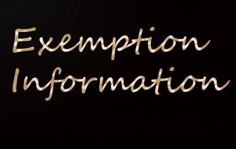 Exemption policy & information