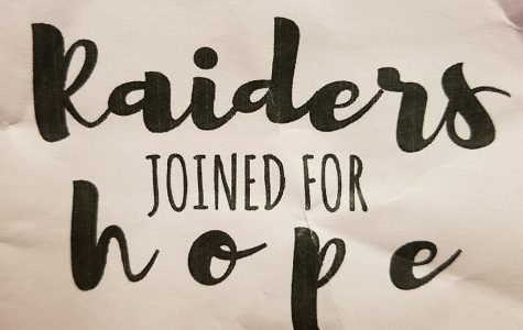 Raiders Joined for Hope
